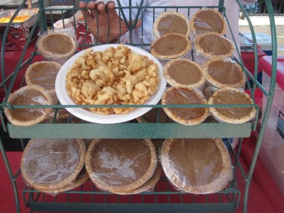 Mini Bean Pies and Sweet Potato Pie