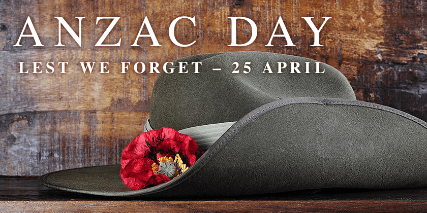 วันที่ 25 เมษายน ANZAC DAY วันอนุสรณ์สถานสงครามออสเตรเลีย