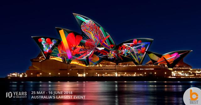 งานมหกรรมแสง สี เสียง VIVID Sydney 2018 – 25 พฤษภาคม – 16 มิถุนายน