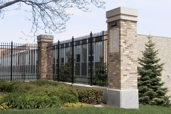 WLHS front fence
