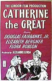 1934 Catherine the Great - poster