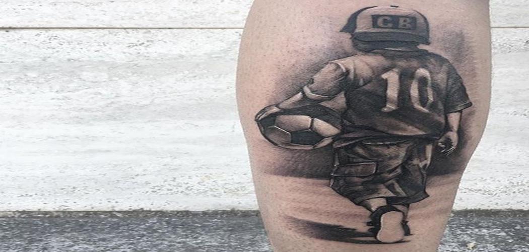 Tatuajes De Fútbol Frases Y Diseños Para Los Amantes Del Balompié