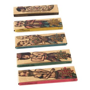 UNBLEACHED NATURAL PAPER LION ROLLING CIRCUS