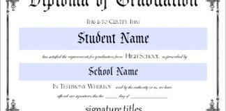 High School Report Card