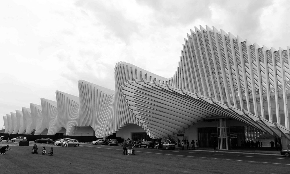 Estacin ferroviaria Mediopadana  Santiago Calatrava