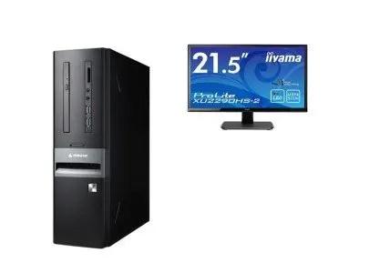 マウスコンピューター スリム型デスクトップ「Lm-iHS410EN-IIYAMA」