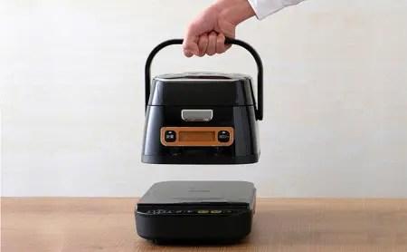 米屋の旨み 銘柄量り炊き 分離式IHジャー炊飯器 分離する