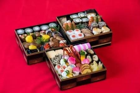 <京料理 松正> 特製おせち料理 特製三段重