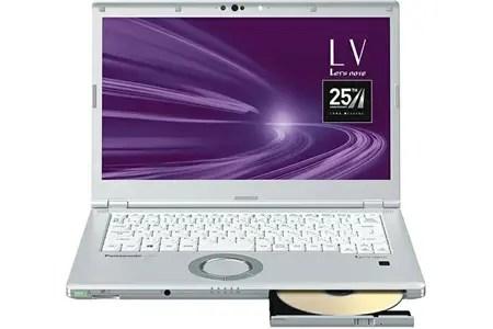 パナソニック ノートパソコン レッツノート LV9 シルバーダイヤモンド モバイルパソコン PC 新品 持ち歩ける大画面 操作性抜群 高性能 軽量 長時間バッテリー 14型