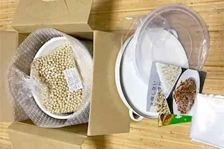 井上糀店の手作り味噌キット(野田琺瑯の容器付き)