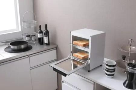 アイリスオーヤマのオーブントースターとトースター