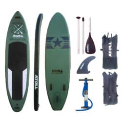 Atoll 11′ Inflatable Stand up Paddle Board Review