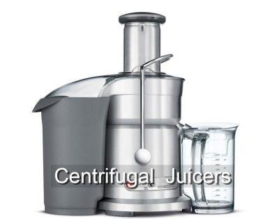 Breveille centrifugal juicer