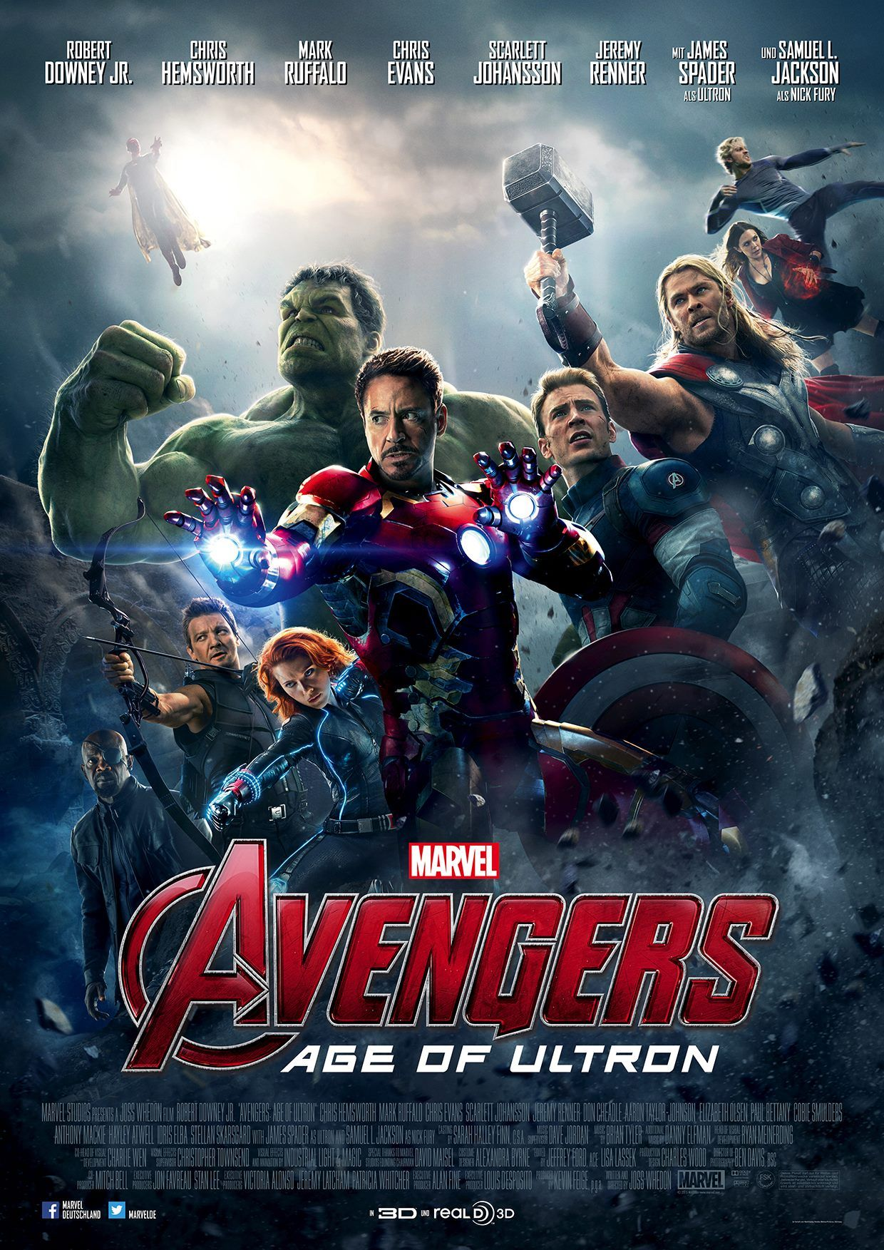 Download Age Of Ultron Sub Indo : download, ultron, Avengers, Ultron, Hindi, Dubbed, Download, Thebestkeen