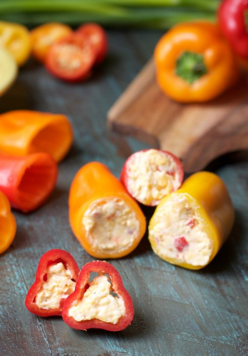 Keto Snacks Bacon And Pimento Cheese Stuffed Sweet Peppers The Best Keto Recipes