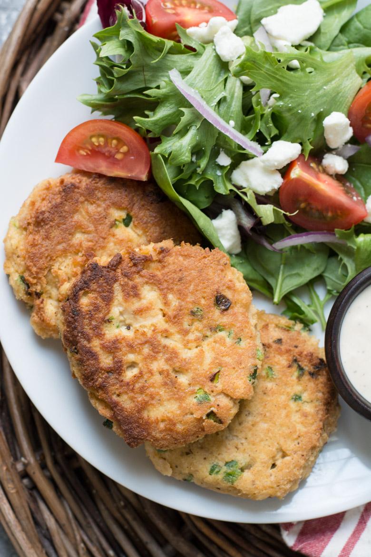 Crispy Keto Salmon Patties - Keto fish meals