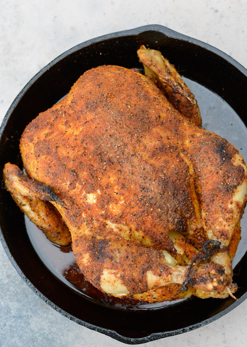 Learn how to make the Perfect Roast Chicken that is super juicy and loaded with flavor!