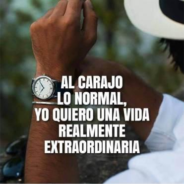 Quiero lo extraordinario