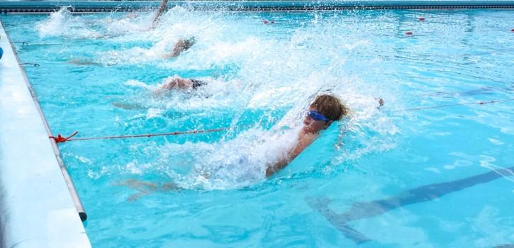 E backstroke