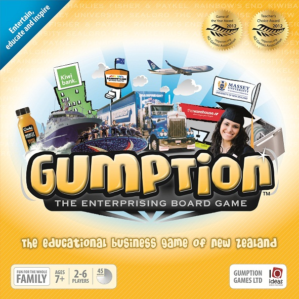 Gumption New Zealand Business Game