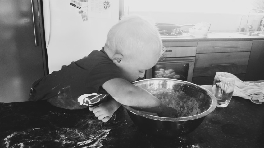 Toddler Baking New Zealand Mum Blogger