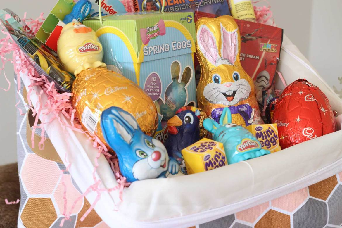 Creating the ultimate easter gift basket giveaway the best nest new zealands top mummy mommy blogger blog travel easter gift basket negle