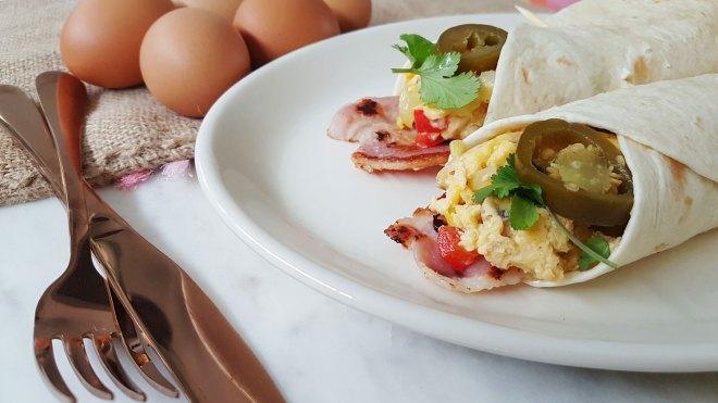 New Zealand's Top Mummy Blogger Parenting Travel Blog Family Egg Burrito Recipe