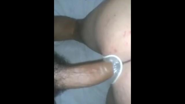 Comendo cu usando camisinha feminina