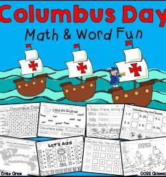 Columbus Day Math and Word Fun – The Best of Teacher Entrepreneurs  Marketing Cooperative [ 960 x 960 Pixel ]