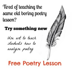Free lesson – Introduction to poetry