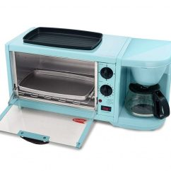 Teal Kitchen Appliances Best Material For Countertops Beautiful Pastel Blue 2019 Light Breakfast Station