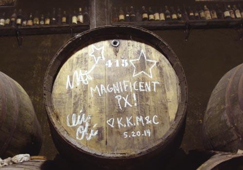 the LOVE barrel in Jerez