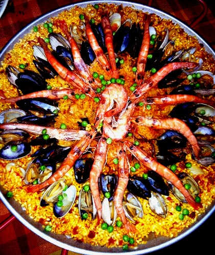 paella mandala
