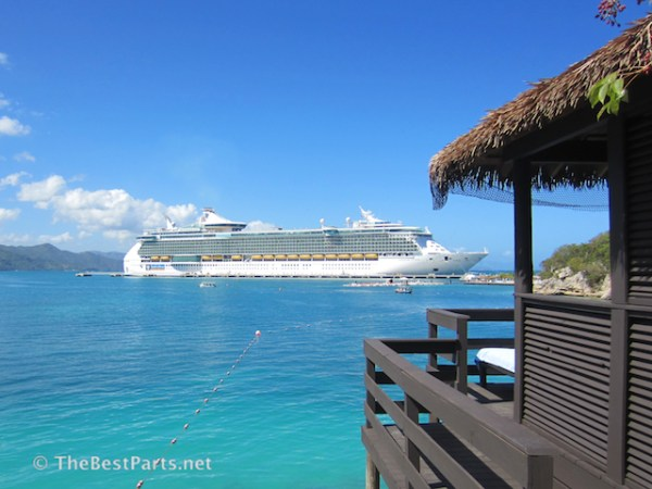 Freedom of the Seas at Labadee Haiti