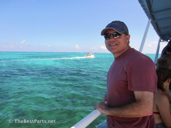 Grand Cayman barrier reef Ferd