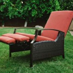 Wicker Recliner Chair Wheel For Office Best Value Outdoor Recliners The