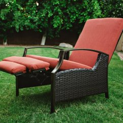 Patio Recliner Lounge Chair Most Expensive Massage Best Value Outdoor Wicker Recliners - The