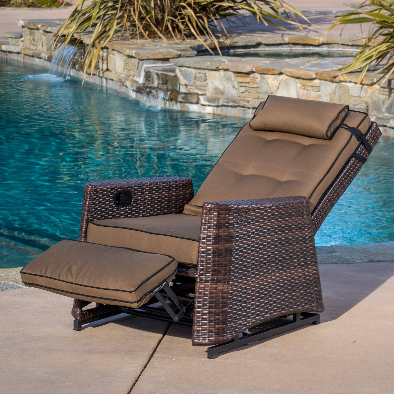Reclining Patio Chairs Best Value Outdoor Wicker Recliners The Best Recliner