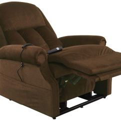 Mega Motion Lift Chairs Reviews Carter Brothers Scoop Chair 500 Pound Heavy Duty Recliner  The Best