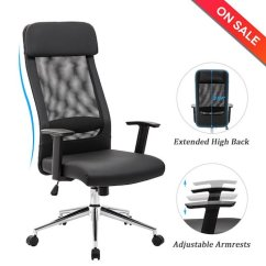 Best Ergonomic Desk Chairs 2018 Chair Covers For Folding Wedding Top 10 Office Under 200 In Reviews The 6 Lch Extra High Back Mesh