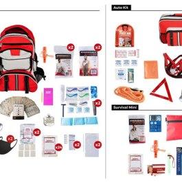 Emergency-Preparedness-Kit-Package---Deluxe-Survival-Kit---Auto-Survival-KIt---Mini-Survival-Kit