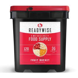 Ready Wise 120 Serving Freeze Dried Fruit Bucket