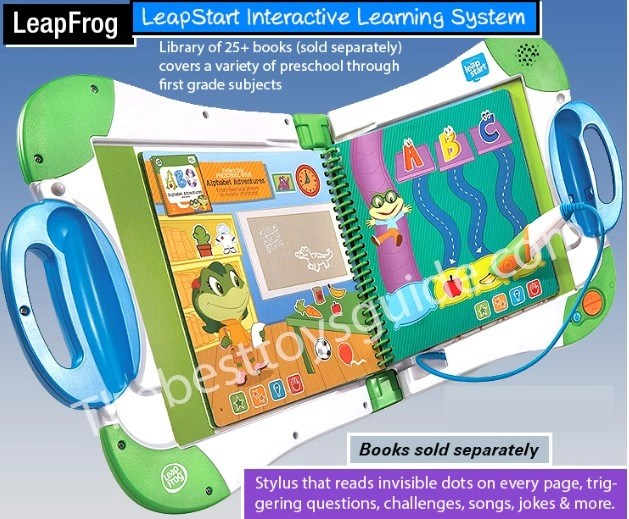 learning toys for 4 year old boy - LeapFrog LeapStart Interactive Learning System