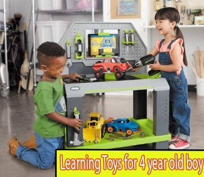 Learning Toys for 4 year old boy