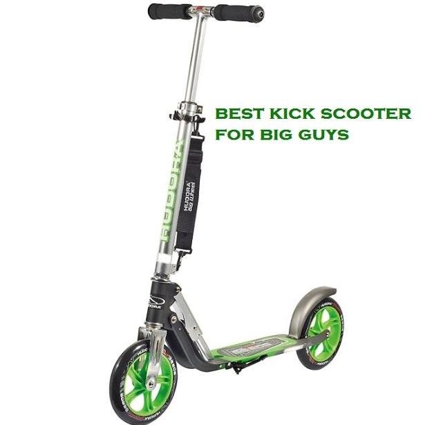 best kick scooter for big guys