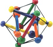 Manhattan Toy Skwish Color Burst Grasping Activity Toy