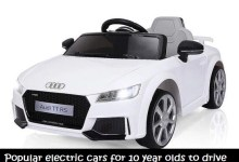 electric cars for 10 year olds to drive is the best sold gift in chirstmas