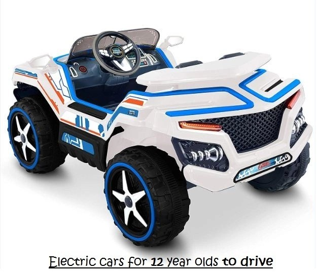 electric cars for 12 year olds to drive