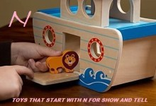 Toys that start with n for show and tell