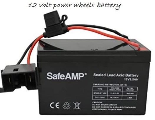12 volt power wheels battery